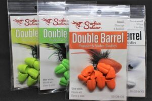 Surface Seducer – Double Barrel Popper Head